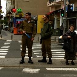 First IDF sighting!