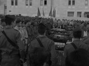 IDF ceremony at The Kotel.